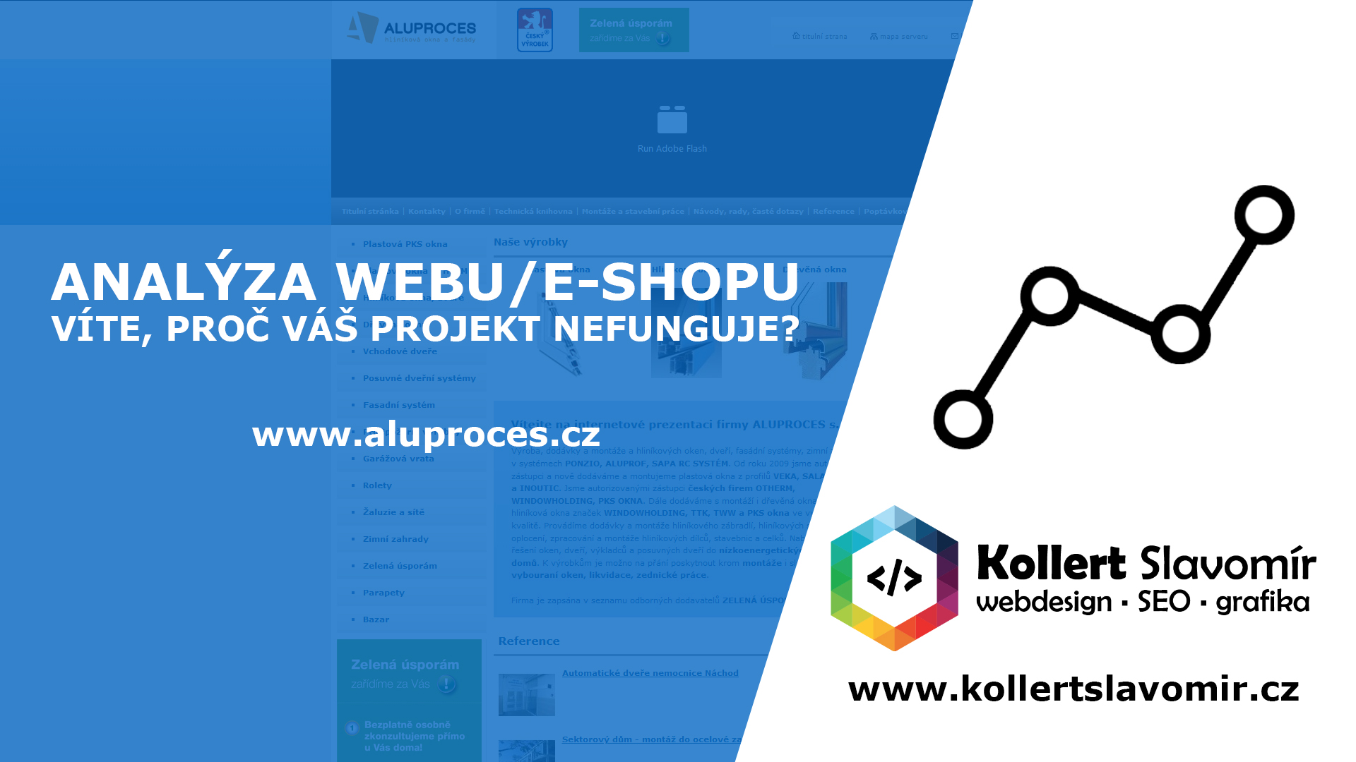 Hodnocení webu aluproces.cz
